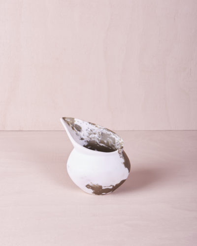 Small Jug - Eucalyptus Marble by KEEPRESIN