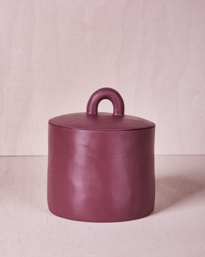 Canister with Lid - Pomegranate by KEEPRESIN