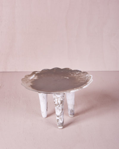 Flower Plate - Clay Marble by KEEPRESIN