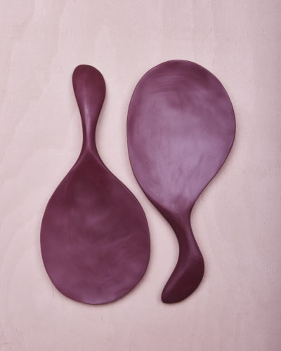 Paddle Salad Servers - Pomegranate by KEEPRESIN