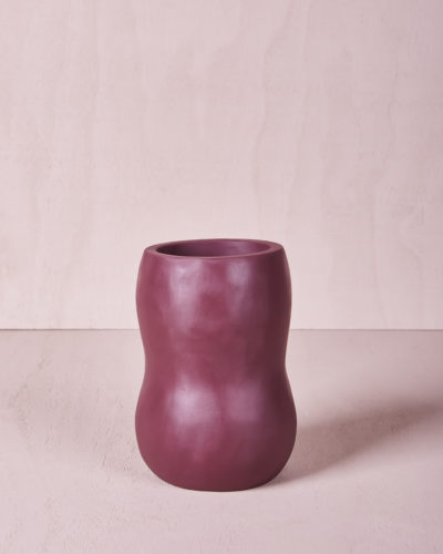 Vase Five - Medium - Pomegranate by KEEPRESIN