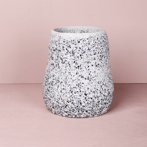 Large Curvaceous Vase - Slate by KEEPRESIN