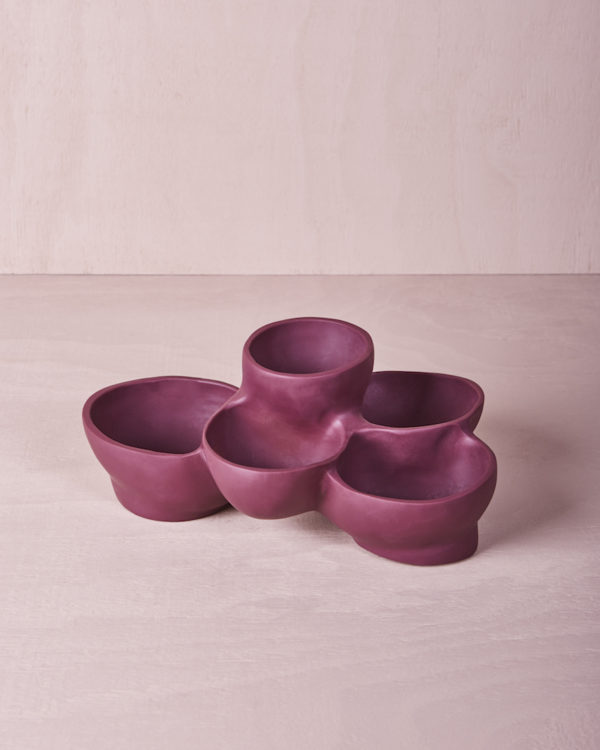 Five Tiered Bowl - Pomegranate by KEEPRESIN