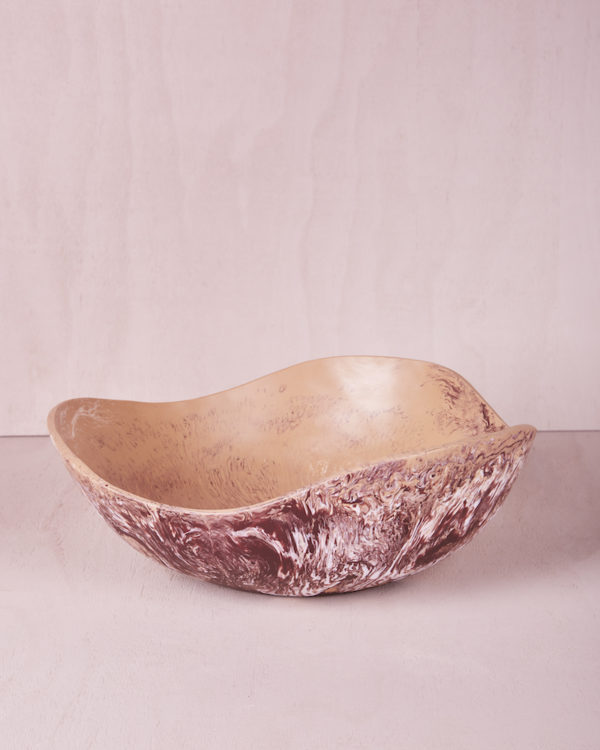 Large Bowl - Clay Marble by KEEPRESIN