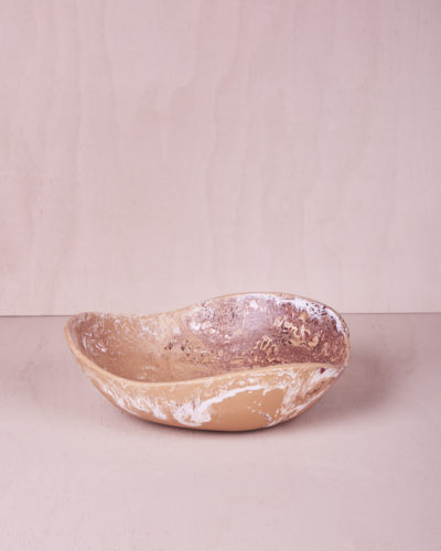 Medium Bowl- Clay Marble by KEEPRESIN