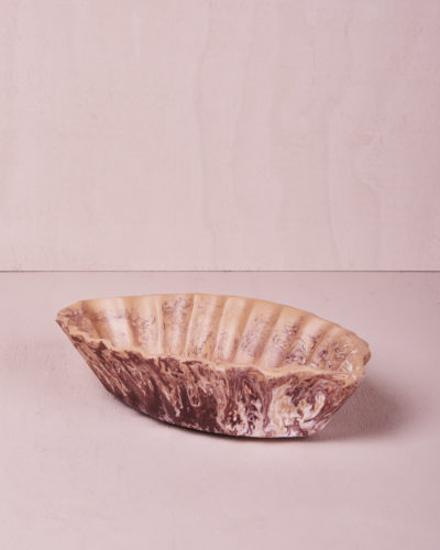 Medium Oval Dish - Clay Marble by KEEPRESIN