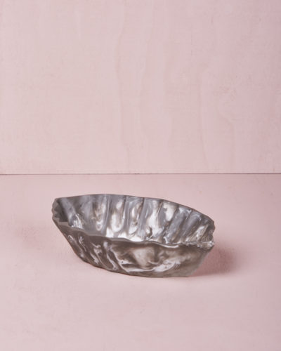Small Oval Dish - Smoke Marble by KEEPRESIN