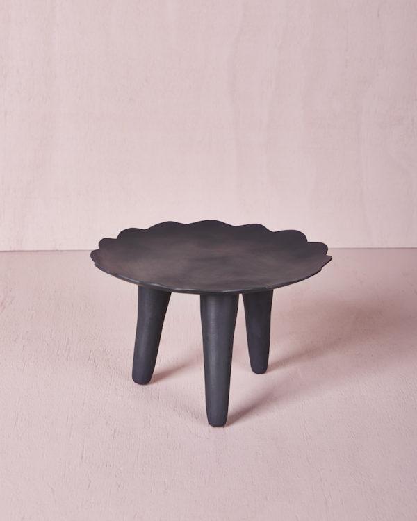 Flower Plate - Smoke Marble by KEEPRESIN