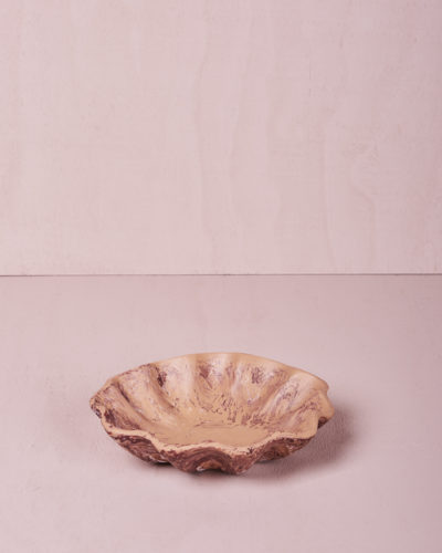 Small Round Dish - Clay Marble by KEEPRESIN
