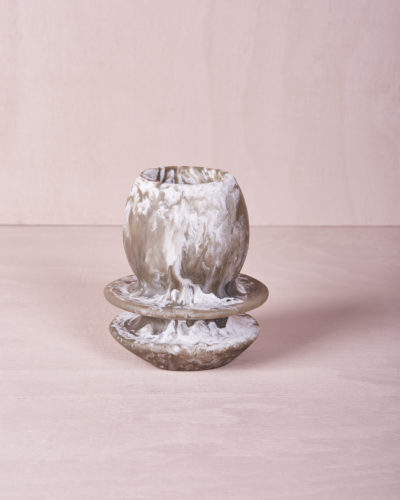 Toothbrush Holder - Smoke Marble by KEEPRESIN