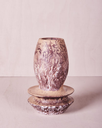 Vase Four - Large - Clay Marble by KEEPRESIN