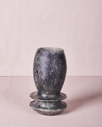 Vase Four - Small - Eucalyptus Marble by KEEPRESIN