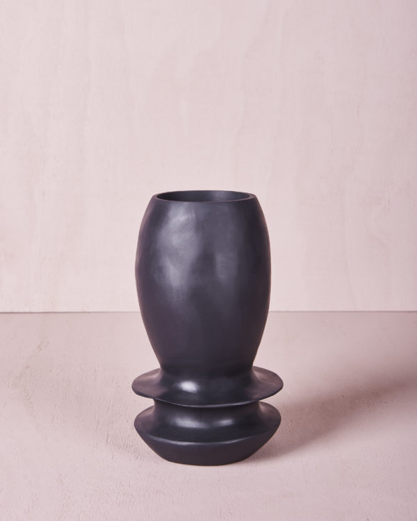 Vase Four - Small - Slate by KEEPRESIN