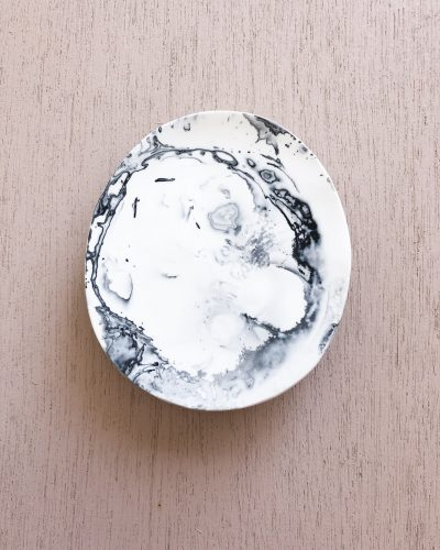 Cloud Dish Small - Ash Marble by KEEPRESIN