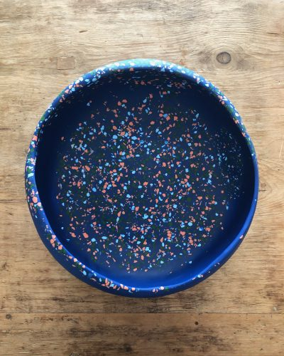 Large Organic Bowl - Modernist Terrazzo by KEEPRESIN
