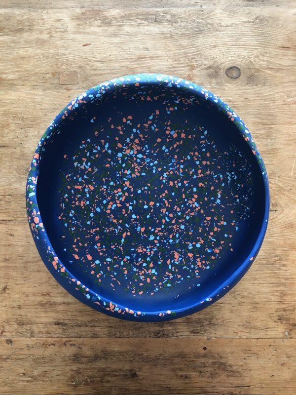 Large Organic Bowl - Modernist Terrazzo by KEEPRESIN