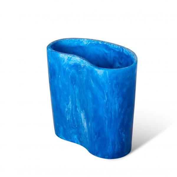 Kidney Vase - Aqua Marine by KEEPRESIN