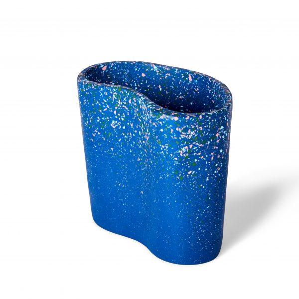 Kidney Vase - Modernist Terrazzo by KEEPRESIN