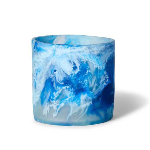 Circle Vase - Aquamarine by KEEPRESIN