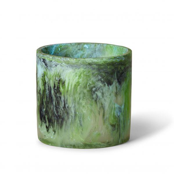 Circle Vase - Moss Marble by KEEPRESIN