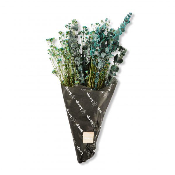 Assorted Dried Flower Bunch - Slate by KEEPRESIN