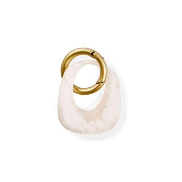 Monumental Keyring - Quartz Marble by KEEPRESIN
